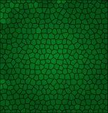 Mosaico abstracto verde Fotos de archivo