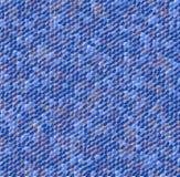 Mosaico abstrato no azul ilustração stock