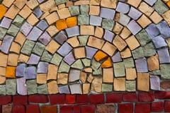 Mosaico al palazzo degli sport Immagini Stock