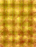 Mosaico amarelo e alaranjado Foto de Stock