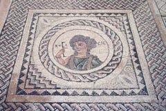 Mosaico antico del pavimento Immagini Stock Libere da Diritti
