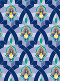 Mosaico arabo senza giunte Fotografia Stock