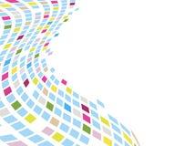 Mosaico astratto Fotografie Stock
