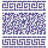 Mosaico azul Fotos de archivo libres de regalías