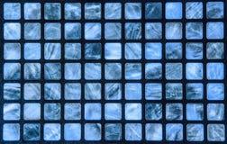 Mosaico azul Imagens de Stock