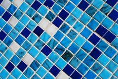 Mosaico azul Imagen de archivo