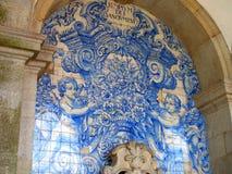 Mosaico azul Fotografia de Stock