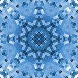 Mosaico azul Imagen de archivo libre de regalías