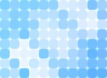 Mosaico azul abstracto fotografía de archivo