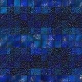 Mosaico azul da telha Fotografia de Stock Royalty Free