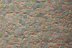 Mosaico azul e cinzento Fotos de Stock Royalty Free
