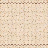 Mosaico beige della piastrella di ceramica nella piscina Immagine Stock Libera da Diritti