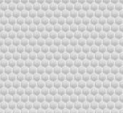 Mosaico bianco di esagono del modello Immagine Stock