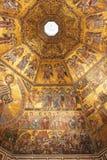 Mosaico bizantino in battistero a Firenze Immagine Stock Libera da Diritti