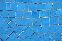 Mosaico blu fotografie stock libere da diritti