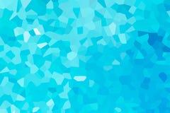 Mosaico blu Immagini Stock Libere da Diritti
