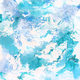 Mosaico blu astratto del fondo Immagini Stock