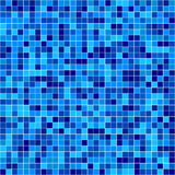 Mosaico blu di vettore Fotografia Stock Libera da Diritti