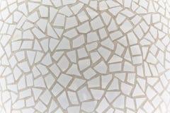 Mosaico branco Fotografia de Stock