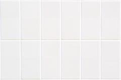 Mosaico branco do retângulo com estrutura vertical Imagem de Stock Royalty Free