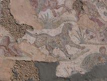 Mosaico a Cartagine Fotografia Stock Libera da Diritti