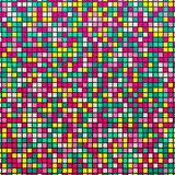 Mosaico claro Fundo abstrato colorido com mosaico Ilustração do vetor ilustração do vetor
