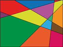 Mosaico colorato Fotografia Stock Libera da Diritti