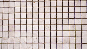 Mosaico colorido cuadrado del travertino Imagen de archivo libre de regalías