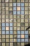 Mosaico colorido cuadrado del travertino Foto de archivo