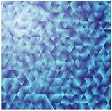 Mosaico colorido do fundo triangular azul Imagem de Stock Royalty Free