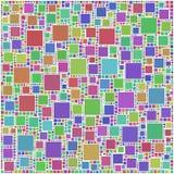 Mosaico colorido dos quadrados Imagens de Stock Royalty Free