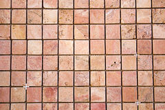Mosaico colorido quadrado do travertino Fotos de Stock Royalty Free