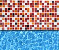 Mosaico com fundo da associação Fotos de Stock Royalty Free