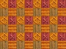 Mosaico con las astillas foto de archivo libre de regalías