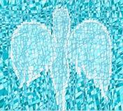 Mosaico con un ángel libre illustration