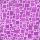 Mosaico cor-de-rosa dos quadrados Fotografia de Stock Royalty Free