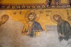 Mosaico cristiano della moschea Hagia Fotografia Stock
