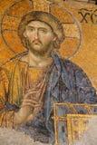 Mosaico cristiano di Hagia Sofia Fotografie Stock Libere da Diritti