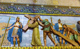 Mosaico Cristo Foto de archivo