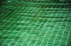 Mosaico da piscina do verde Imagens de Stock Royalty Free