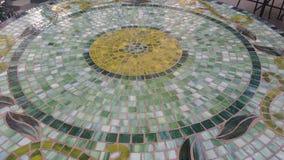 Mosaico da tabela verde Fotos de Stock