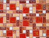 Mosaico da telha foto de stock