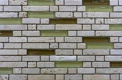 Mosaico da telha cer?mica Mosaico da telha do fundo e da textura Mosaico da telha no interior do banheiro ou da cozinha fotografia de stock