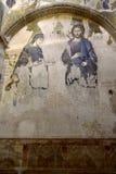 Mosaico da Virgem Maria e do Jesus Christ, Istambul, Turquia imagens de stock royalty free