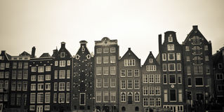 Mosaico de Amsterdam Fotos de archivo libres de regalías