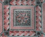 Mosaico de Architectual del fondo de mármol Fotografía de archivo libre de regalías