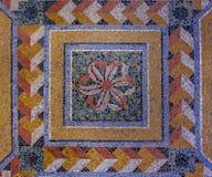 Mosaico de Architectual del fondo de mármol Imagenes de archivo