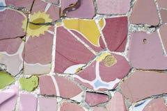 Mosaico de Barcelona Imagen de archivo libre de regalías