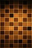 Mosaico de Brown Imagem de Stock