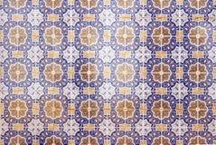 Mosaico de cerámica portugués tradicional imagenes de archivo